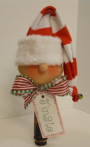 This is just too too cute! - How absolutely adorable - I love Christmas knicknacks - so much fun!! #indigo #magicalholiday