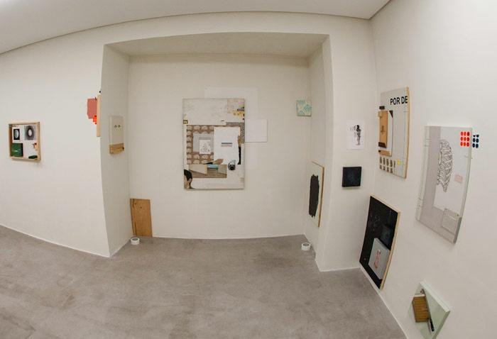 Bruno Kurru  Vista da exposição O Ser, Como Meta na Zipper Galeria, São Paulo.