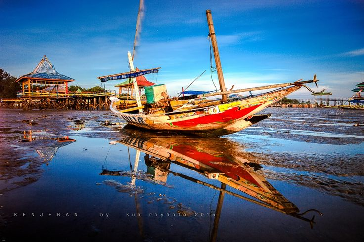 Traditional Boat at Kenjeran Beach by Kun Riyanto on 500px