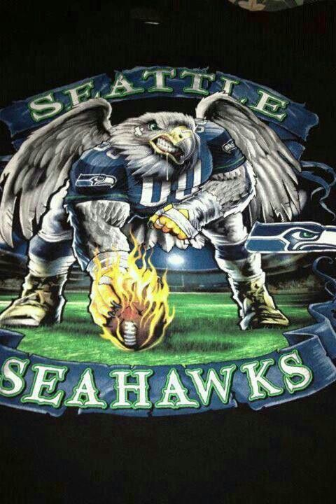 Seattle Seahawks!  Cool image