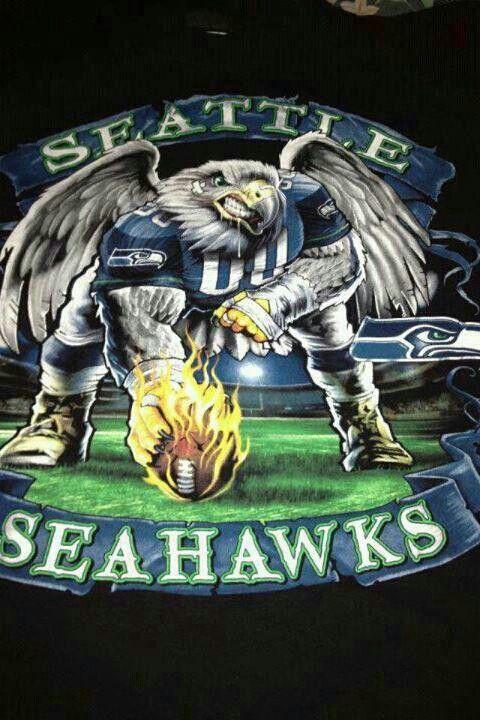 Seattle Seahawks!  Cool image