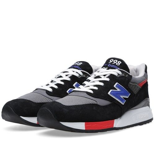 New Balance M998HL \u0027Catch 22\u0027 - Made in the USA (Black \u0026 Cobalt