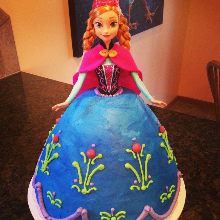 anna frozen cake | Frozen cake, Anna.