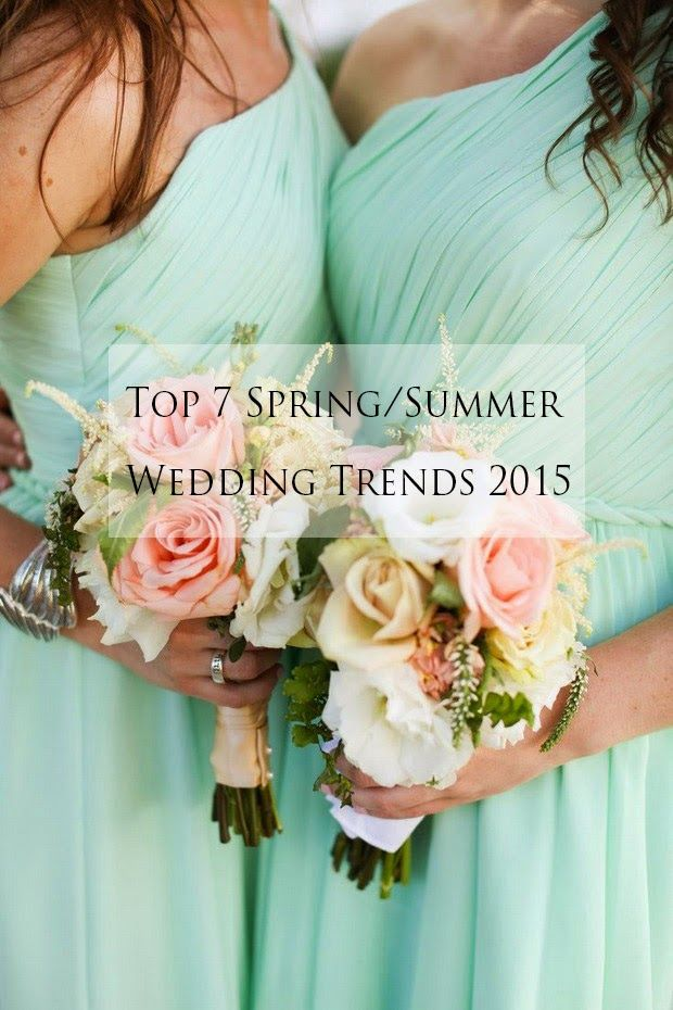 A Sign of the Times: Top 7 Wedding Ideas & Trends for Spring/Summer 201...
