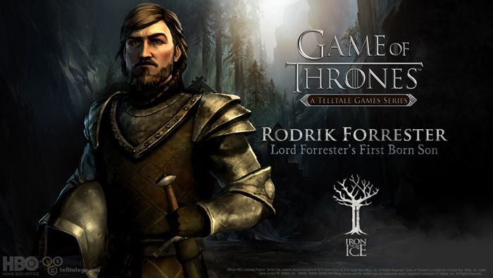 Game of Thrones Rodrik Forrester