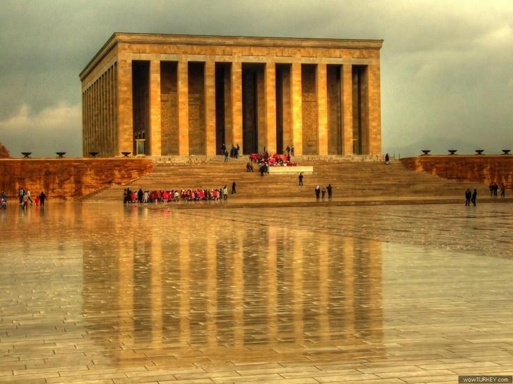 TURKEY, Ankara-Anıtkabir - the Mausoleum of ATATURK. 10 Aug 2014
