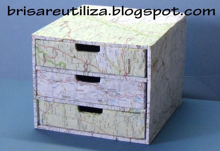 Organizador, gavetero o cajonera