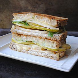 Grilled Brie & Pear Sandwich - the perfect combination for a fall ...