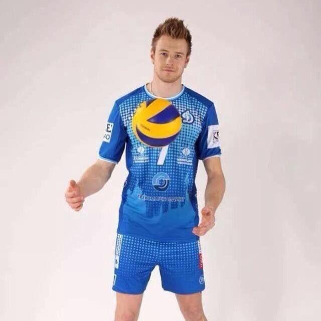 Ivan Zaytsev con la maglia della Dinamo Moskva.