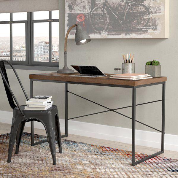 Williston Forge Karina Writing Desk Reviews Wayfair Solid Wood Writing Desk Diy Home Office Furniture Wood Writing Desk