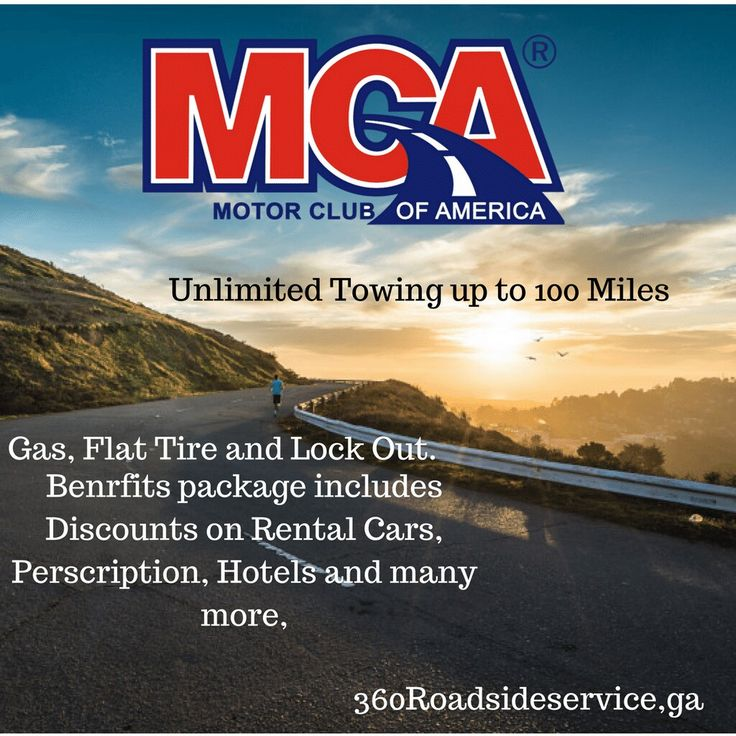 Starting at $9.95 month Unlimited 24/7 Emergency towing up to 100 miles per tow. Unlimited Battery boost, Fuel Delivery, Tire Change and Lock Out Service. Covers Truck, Motorcycles, RV's and many more.