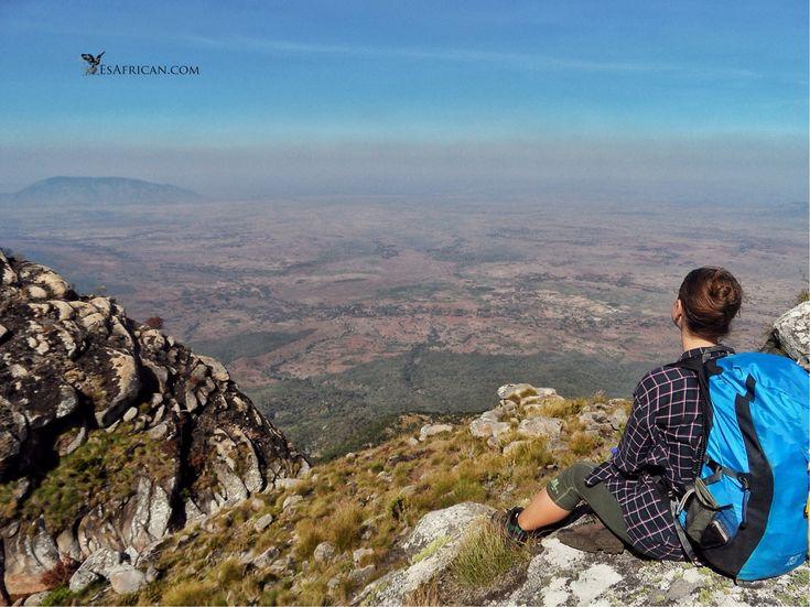 The view from near the pools near Sombani Hut, Mulanje Mountain