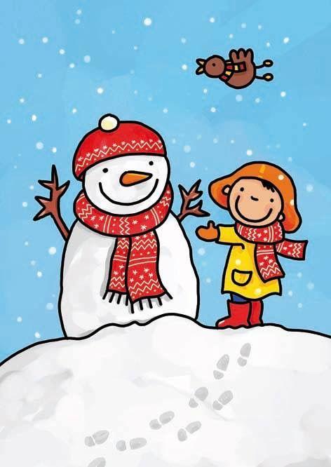 Afbeeldingsresultaat voor winter tekening