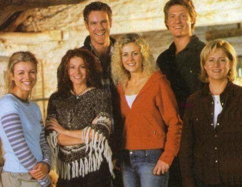 McLeod's Daughters Australian series. Aaron Jeffery