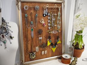 11 Easy and Clever DIY Jewelry Displays for Home and Business: Vintage Inspired …