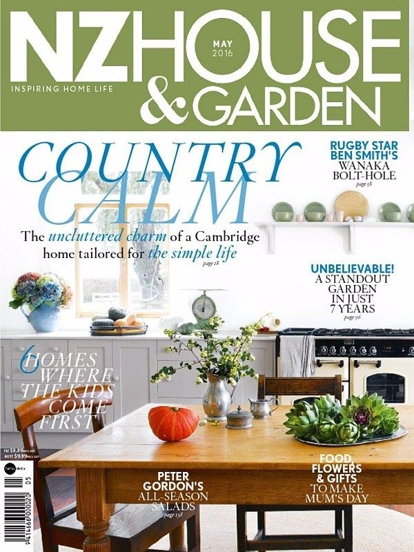 Nz House Garden May 2016 Issue Country Calm NzHouseandGarden HomeInteriors Ebuildin