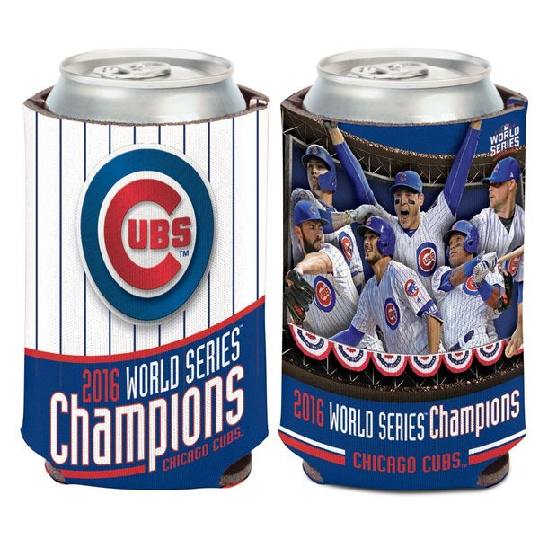 Chicago Cubs 2016 World Series Champions 12 Oz. Can Coozie  #ChicagoCubs #Cubs #FlyTheW #MLB #ThatsCub