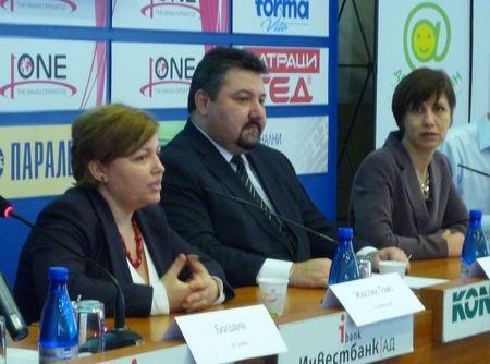 Press conference at the Sofia PressClub