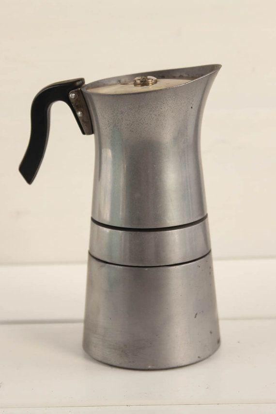 Vintage Hungarian moka pot / coffee maker / percolator / 60s coffee machine
