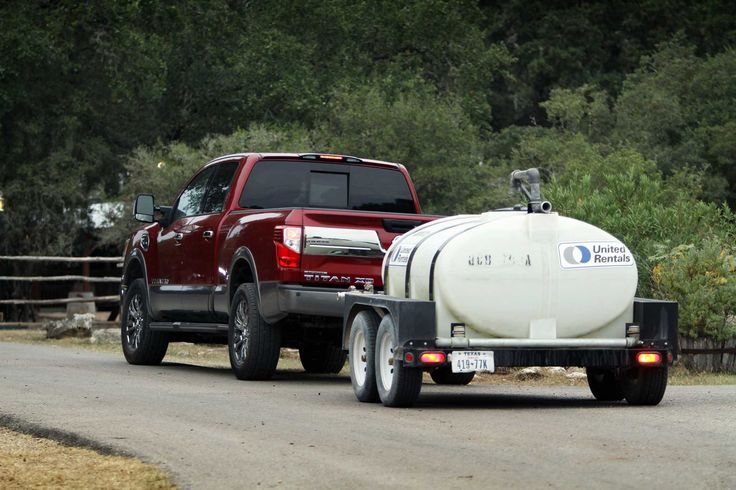 "Reviewers are excited about the new #Nissan Titan and call it ""smarter, refined and more capable."" What would you tow with this truck? http://www.chron.com/cars/article/Nissan-s-Titan-XD-aimed-at-heavy-duty-towing-6705920.php"