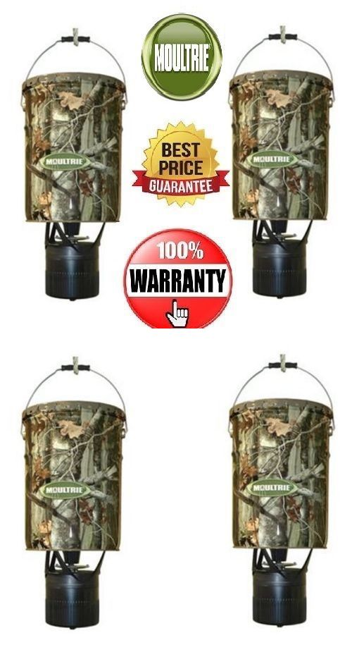 Game Feeders and Feed 52504: 2 Moultrie Mfh-Ep 6.5 Gallon Econo Plus Hanging Deer Feeders W Photocell Timer -> BUY IT NOW ONLY: $88.99 on eBay!