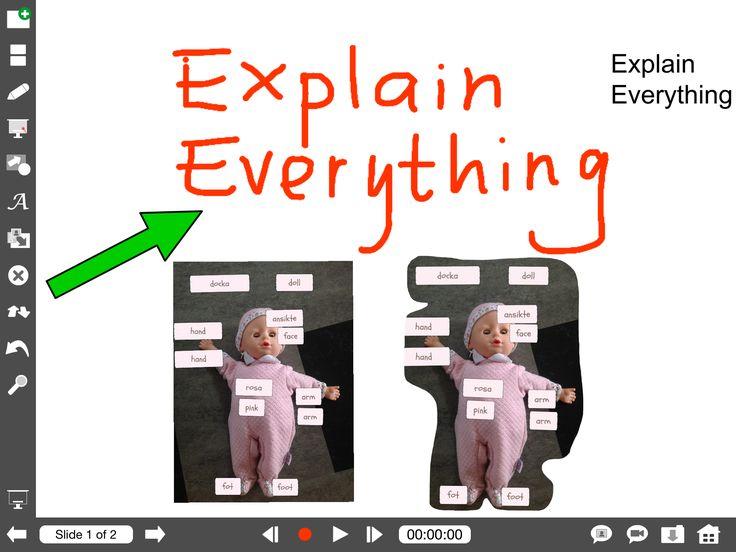 Explain Everything – Spela in det du skriver och berättar