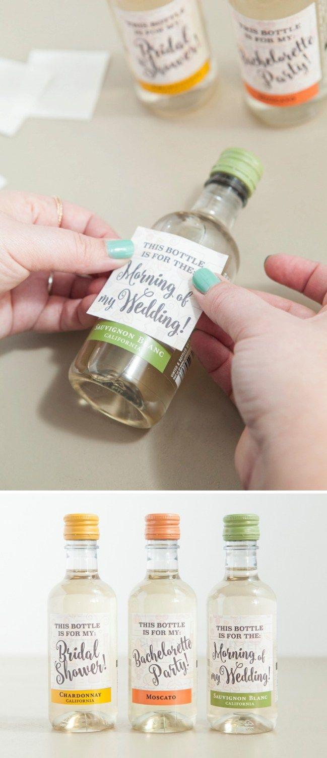 Die Besten 25+ Mini Weinflaschen Ideen Auf Pinterest   Weinflasche .