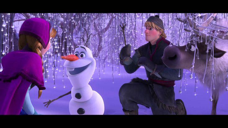 La Reine des Neiges-Extrait exclusif, recontre avec Olaf