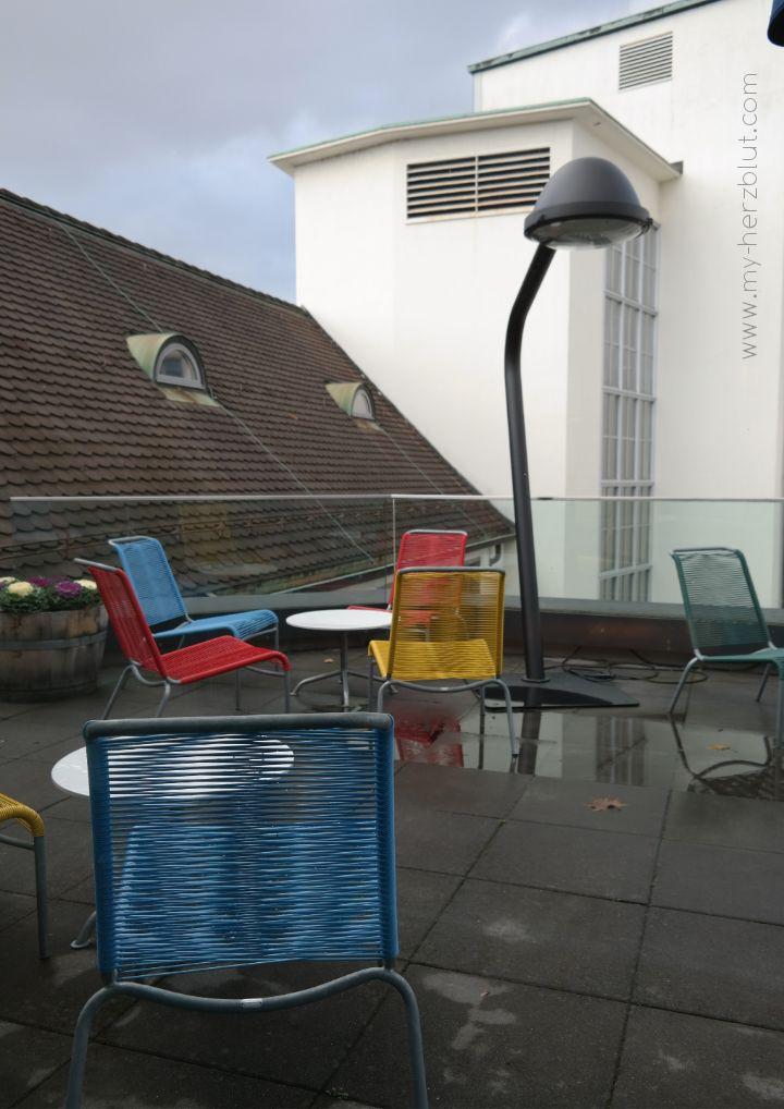 Terrasse Hiltl Akademie Zürich
