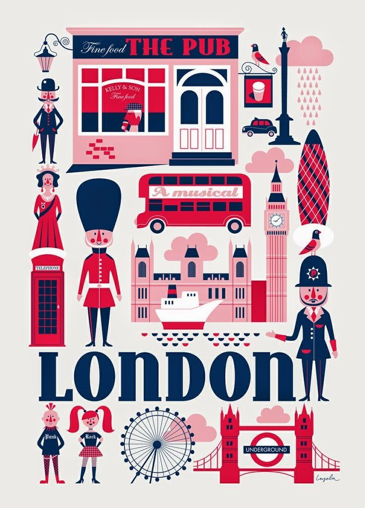 English is FUNtastic: London, England: Top Iconic Attractions - video