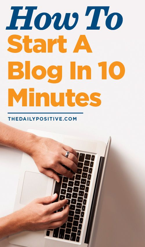 This is the perfect way to learn how to start a blog!
