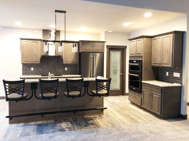 Kitchen Ideas In 2020 Bar Stools Suspended Seating Kitchen Pantry Doors