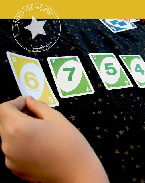 Two UNO Math Games- Place Value War & Making Tens