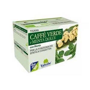 Valverbe Tisana al Caffè verde e Menta dolce Valverbe – stimolante delle funzionalità digestive, 20 filtri a soli 4,50€