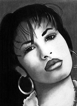 Selena Quintanilla by Nereida Vazquez