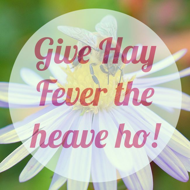 Don't let hay fever ruin your summer - try our tips and natural remedies to keep hay fever symptoms at bay!