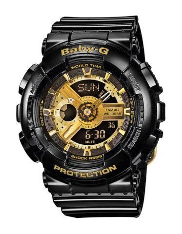 Casio Baby-G horloge ba-110-1aer-baby-g | Hip Kinderhorloge dat tegen een stootje kan! | Voordelig online verkrijgbaar op http://www.horlogesstyle.nl/g-shock-horloges #gshock #babyg #kinderhorloge #shock