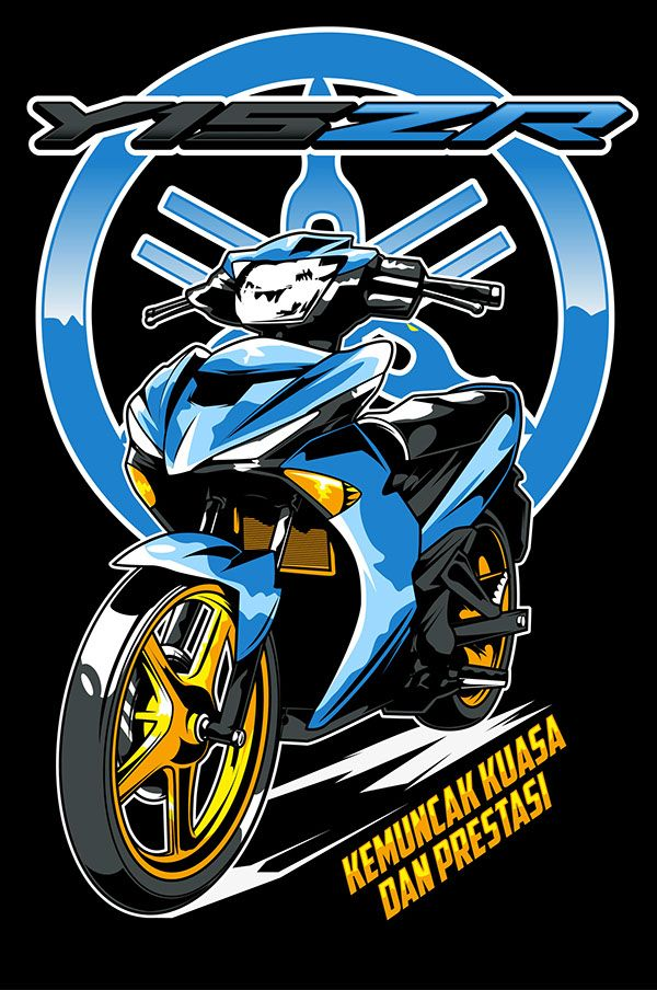 Yamaha Y15zr Mx King 150 On Behance Desain Logo Otomotif Desain