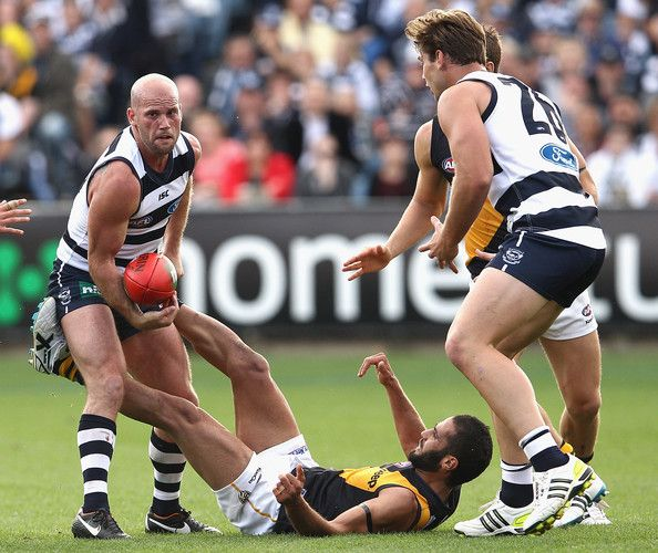 Paul Chapman from the Geelong Cats  http://footyboys.com