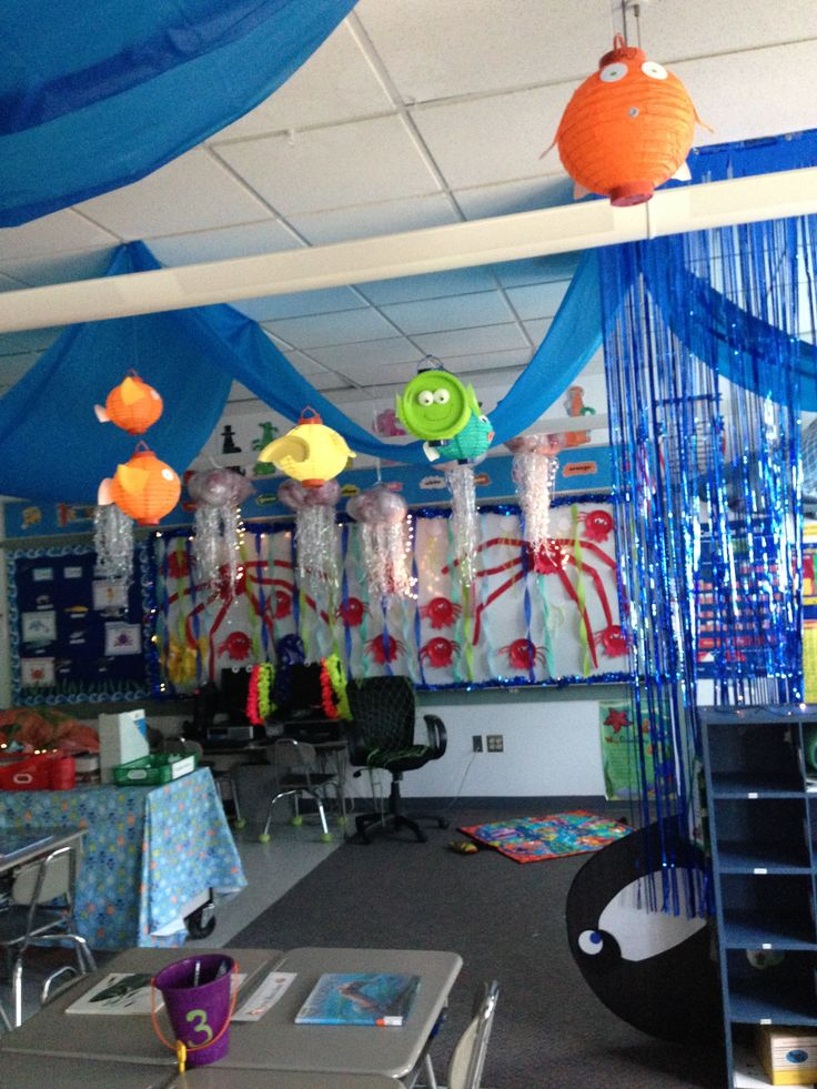 Ocean Decoration For Classroom ~ Ocean themed classroom pinterest streamers