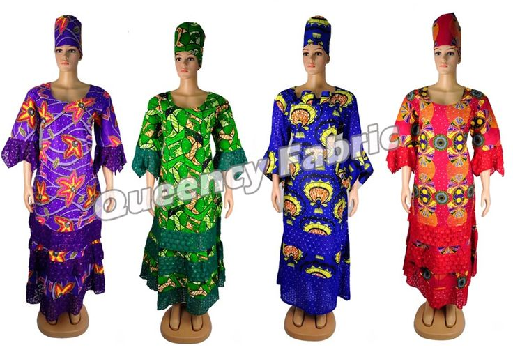 Queency african clothing, new ankara style wax dress with stones , fashion africa attire, african women maxi dress, wax gele headwrap
