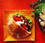 Feta and Tzatziki Burger