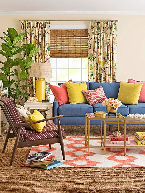 2014 Palette of the Year  A Living Room with Layers of Color
