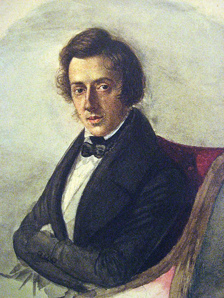Frédéric François Chopin (Fryderyk Franciszek Chopin) s-a născut în Polonia pe data de 1 martie 1810 și a fost unul dintre cei mai prolifici și influenți compozitori de muzică pentru pian. Chopin a murit la numai 39 de ani la Paris, însă a lăsat posterității o formidabilă creație muzicală, cele mai cunoscute fiind concertele pentru pian.