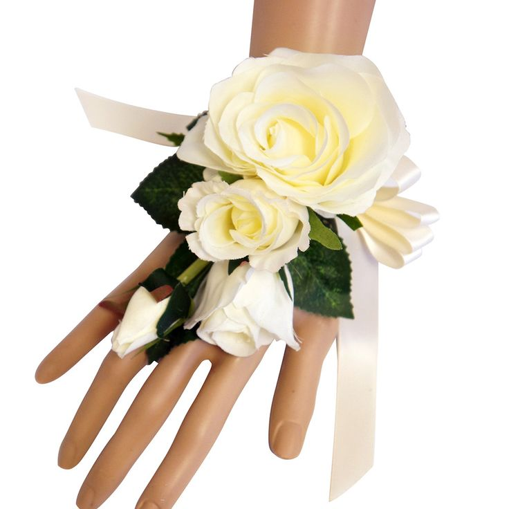 how to wear a corsage at a wedding
