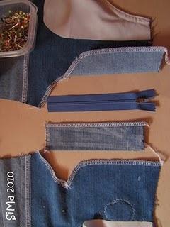 tutorial Reißverschluss einnähen in Hose