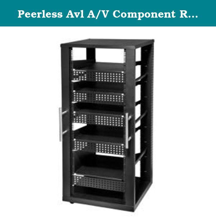 Peerless Avl A/V Component Rack System (6 Shelves). Peerless Avl A/V Component Rack System (6 Shelves).