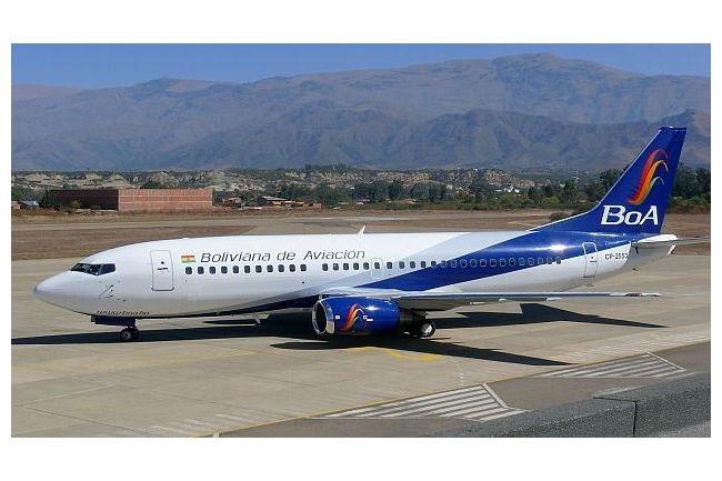 Bolivia : BOA Airlines