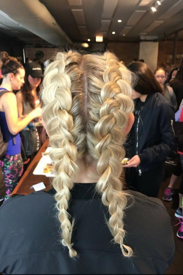 cute casual boxer braids are perfect for a day …