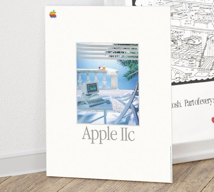 The Apple IIc, the fourth model in the Apple II series of personal computers, is Apple Computer's first endeavour to produce a portable computer. The result was a 7.5 lb (3.4 kg) notebook-sized version of the Apple II that could be transported from place to place. | eBay!